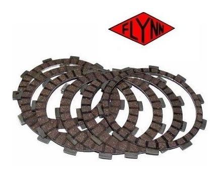 disco de embreagem flynn virago 250/xv250 jogo composto por