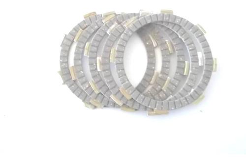 disco de embreagem ybr 125 factor 125 xtz 125 kit 5 discos