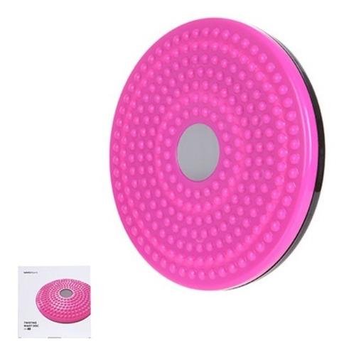 disco de equilíbrio para exercicios miniso - cor rosa