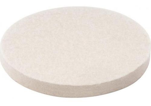 disco de feltro para polir roda de pano de diâmetro 4 pol