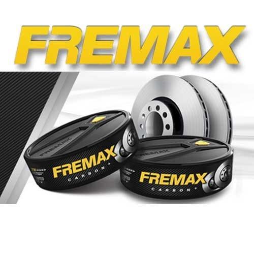 disco de freio dianteiro audi 100 quattro - marca fremax