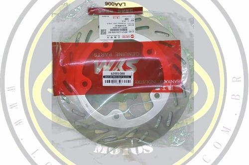 disco de freio dianteiro dafra citycom 300 original com nota