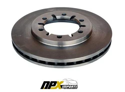 disco de freio dianteiro frontier (260,00mm/ 6 furos) (par)