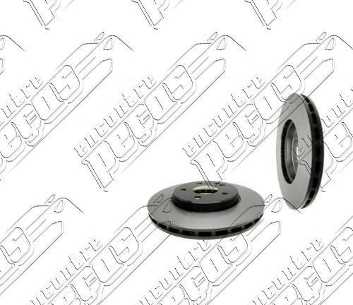 disco de freio dianteiro mercedes (c209) clk500 2002 a 2010