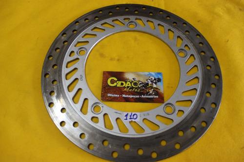 disco de freio dianteiro twister 2008 original.