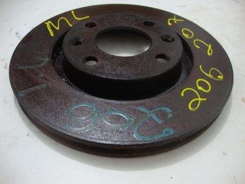 disco de freio do peugeot 206 207