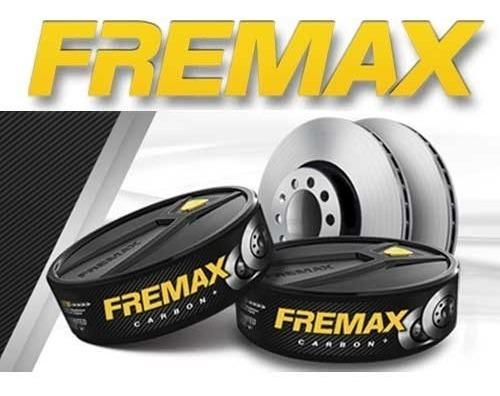 disco de freio traseiro ford fusion 2.5 - marca fremax