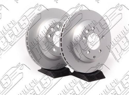 disco de freio traseiro porsche cayenne s 4 2004 - 2006