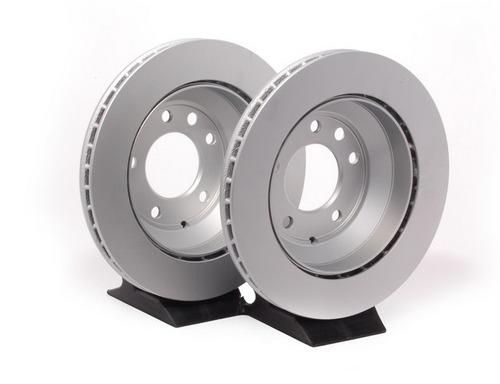 disco de freio traseiro porsche cayenne s 4.5 v8 2003 a 2006