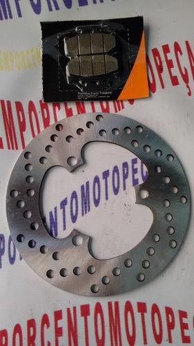 disco de freio traz de lander ou tenere 250 com pastilha