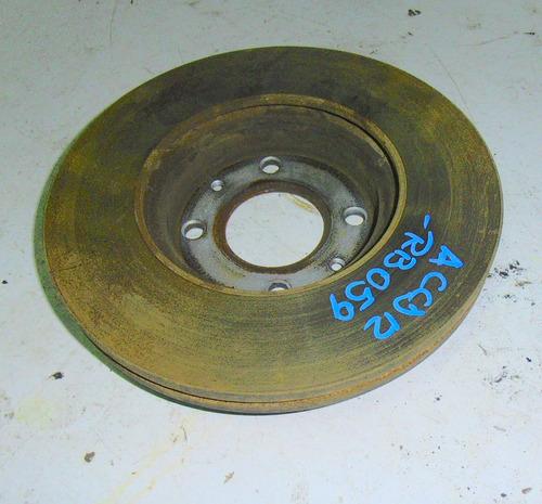 disco de freno delantero (original) hyundai accent rb