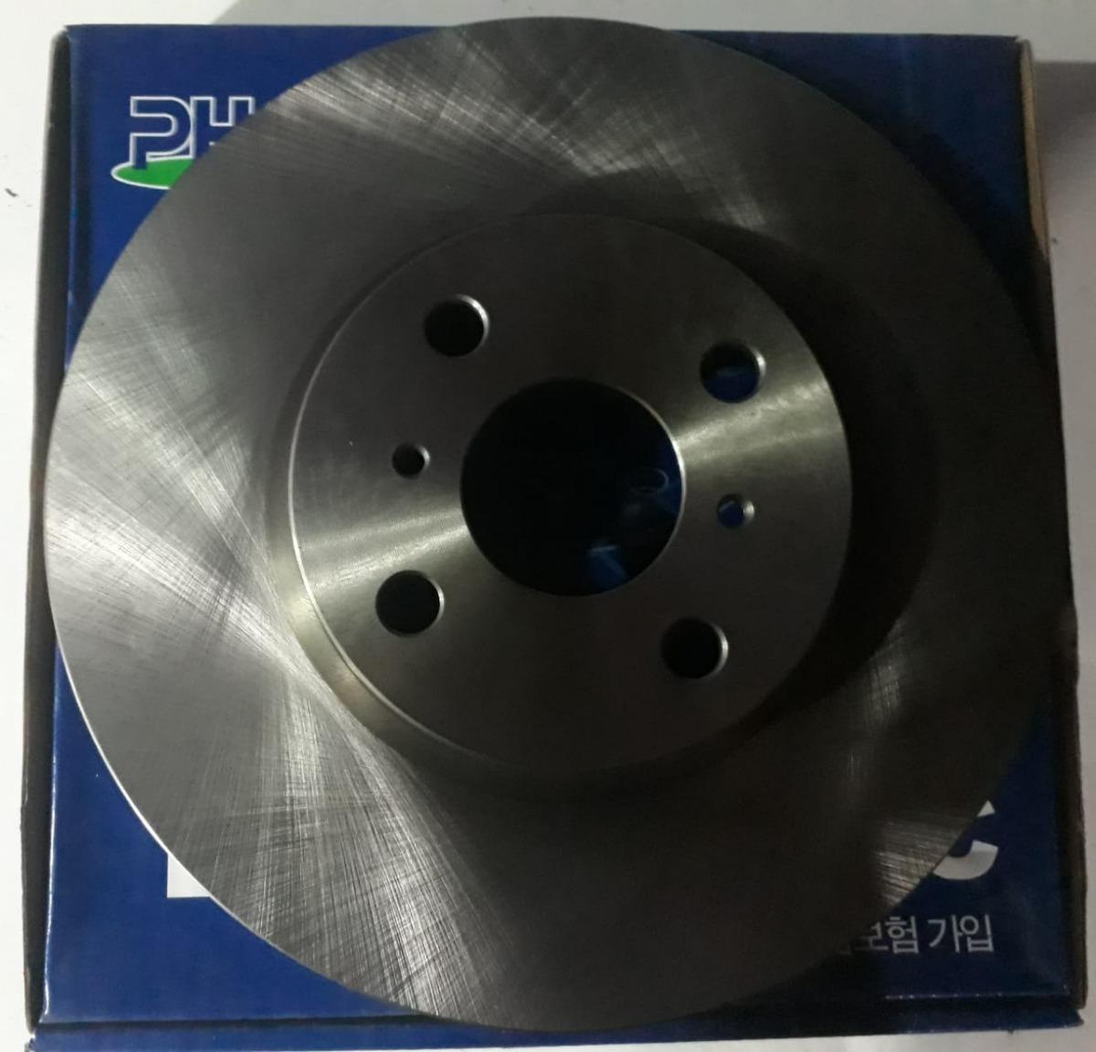nk 204001 Disco de freno 2 unidades