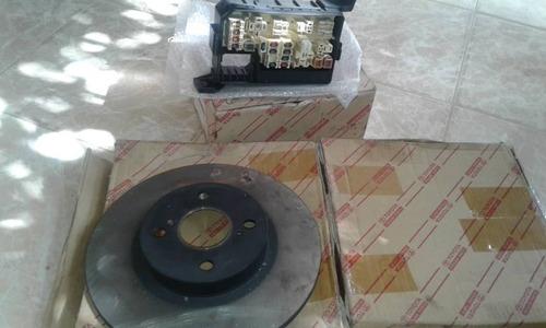 disco de frenos traseros 1.8 corolla 1999-2002 (toyota).