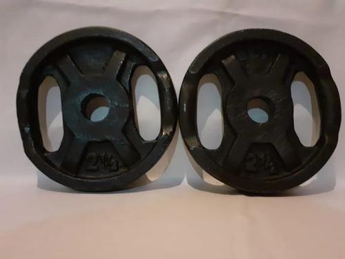 disco de fundicion de2.5 kg por unidad