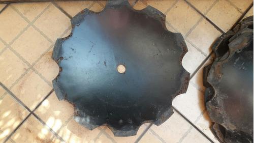 disco de grade aradora recortado 24'' polegadas 6mm espeçura