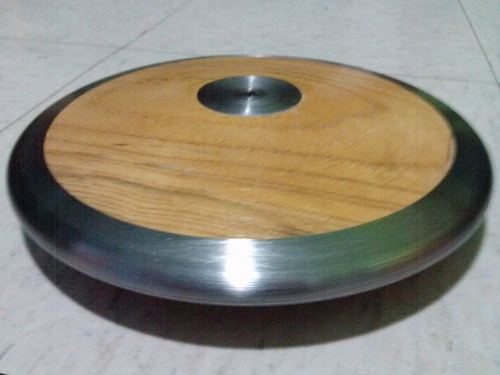 disco de lanzamiento de disco 2 kgs madera metal