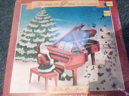 disco de navidad en piano