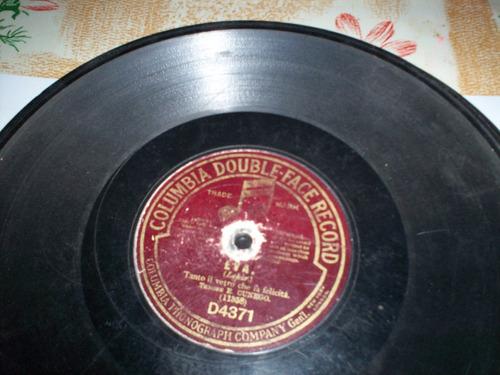 disco de pasta 78rpm - eva