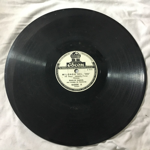 disco de pasta - tango