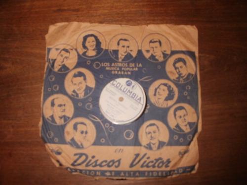 disco de pasta tango antiguo héctor varela