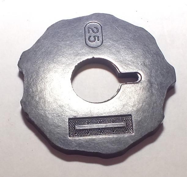 Disco De Patrón Número 25 Máquina Coser Singer Clase 316 - Bs. 80,77 ...