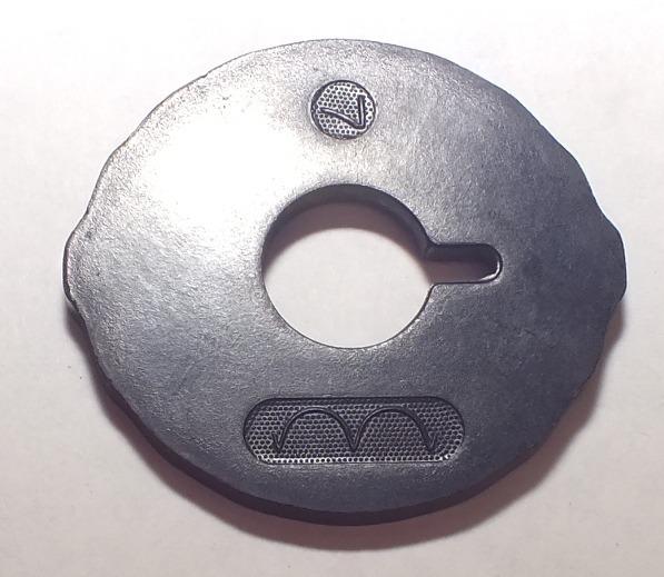 Disco De Patrón Número 7 Máquina Coser Singer Clase 316 - Bs. 80,77 ...