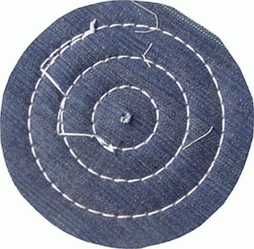 disco de polir roda de pano de brim de diâmetro 6