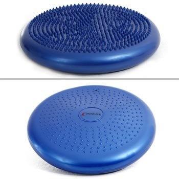 disco de propiocepción inflable con pinches/ bosu de 30 cm