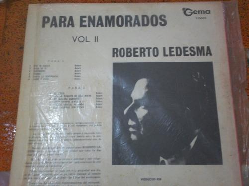 disco de roberto ledesma (años 60) de gema records