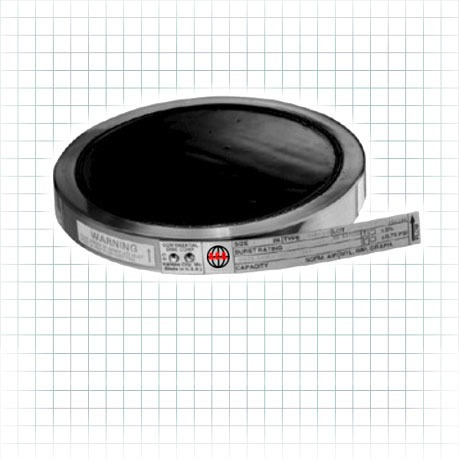 disco de ruptura de grafito de alta presión de 2 pulgadas