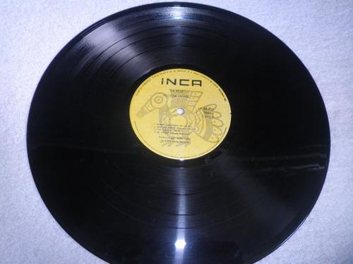 disco de salsa en vinyl 12'' de hector lavoe - la voz (1975)