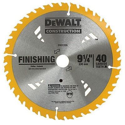 disco de serra circular 235x22 p/ madeira/laminado 40 dentes