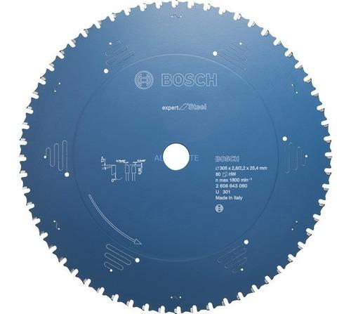 disco de serra para metal bosch 305x25.4mm 60t maquifer