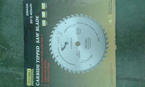 disco de sierra para madera 9 pulgadas