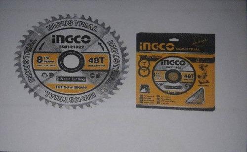 disco de sierra tct 40t 7-1/4  marca ingco.