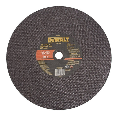 disco de tronzadora 14 dewalt (ref. dw44640)