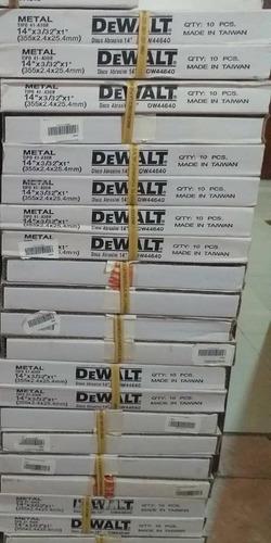 disco de tronzadora dewalt 14 pulgadas