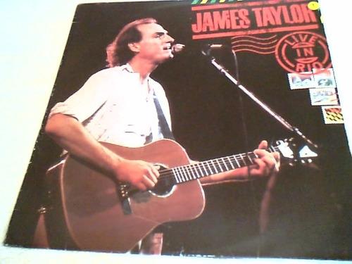disco de vinil        james taylor - 1986