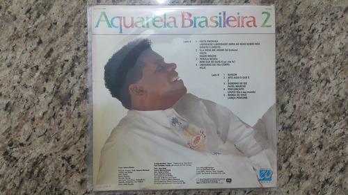 disco de vinil (lp) - emílio santiago aquarela brasileira 2