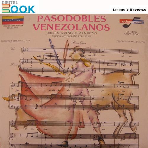 disco de vinil pasodobles venezolanos