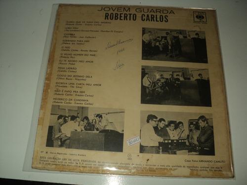 disco de vinil - roberto carlos -jovem quarda-1965