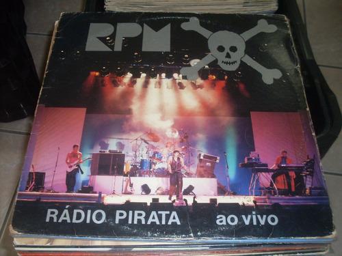 disco de vinil rpm rádio pirata ao vivo decada de 1980,,,