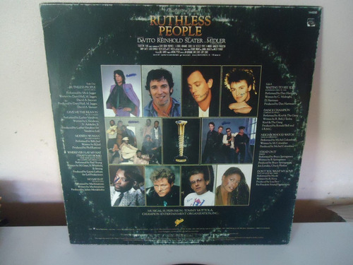 disco de vinil - trilha son. - ruthless people