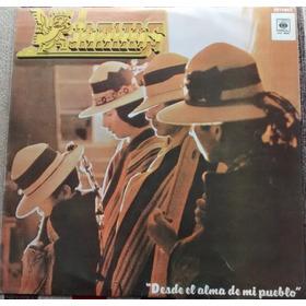 Disco De Vinilo - Kjarkas - Desde El Alma De Mi Pueblo