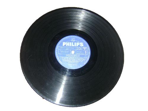 disco de vinilo 33 1/3 rpm fausto papetti hasta las 5 a.m
