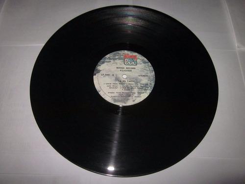 disco de vinilo, acetato, lp salsa wladimir y su contelacion
