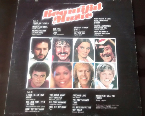 disco de vinilo - beautiful music