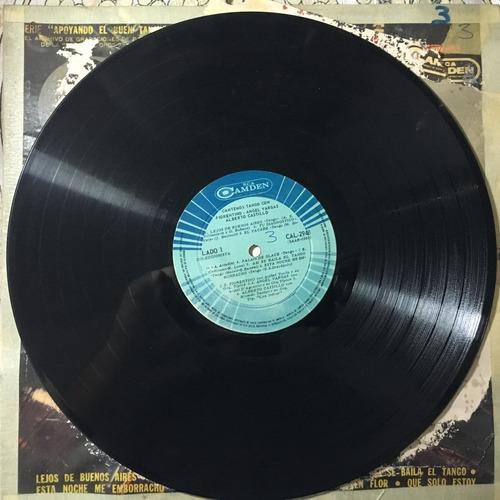 disco de vinilo - cantemos tango
