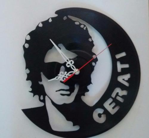 disco de vinilo cerati  arte decoracion