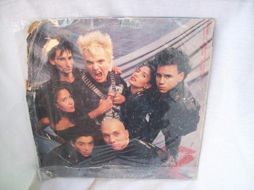 disco de vinilo de beso negro